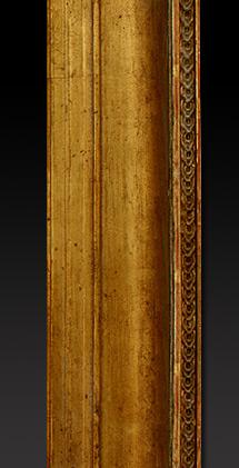 Cadre bois dor canneaux - Technique d encadrement d un tableau ...