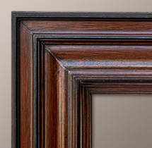 Cadre tableau flamand profil renvers - Baguette d encadrement pour tableaux ...