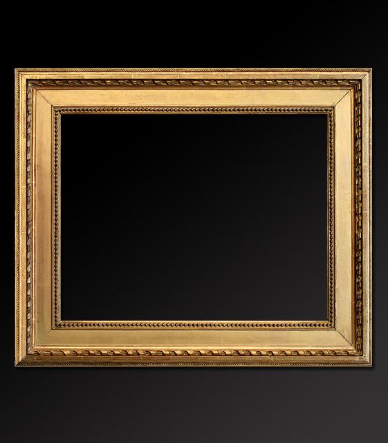 Cadre tableau style italien bois dor - Fabriquer cadre tableau ...